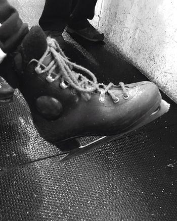 Skate Close-up Shoelace Ice Skating ❄ Child Foot