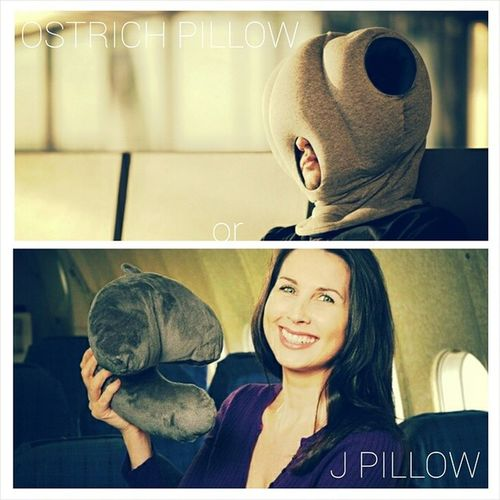 Decisions... Ostrichpillow Jpillow Travelcushion Longhaulflight Comfort Wouldanyoneeverusethat