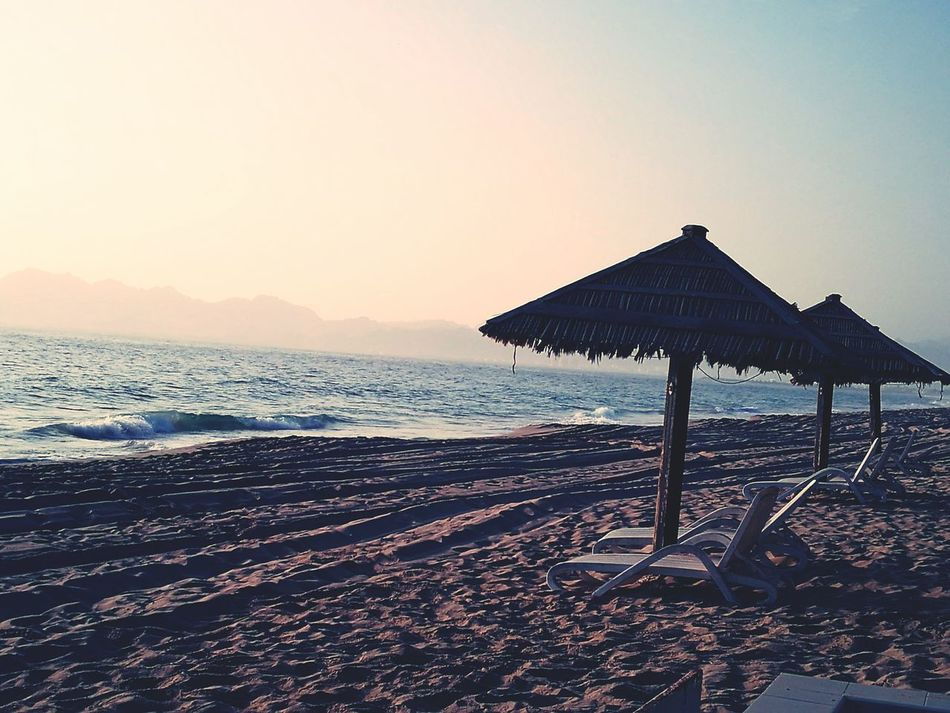 Beautiful and quite beach at dibba, Oman