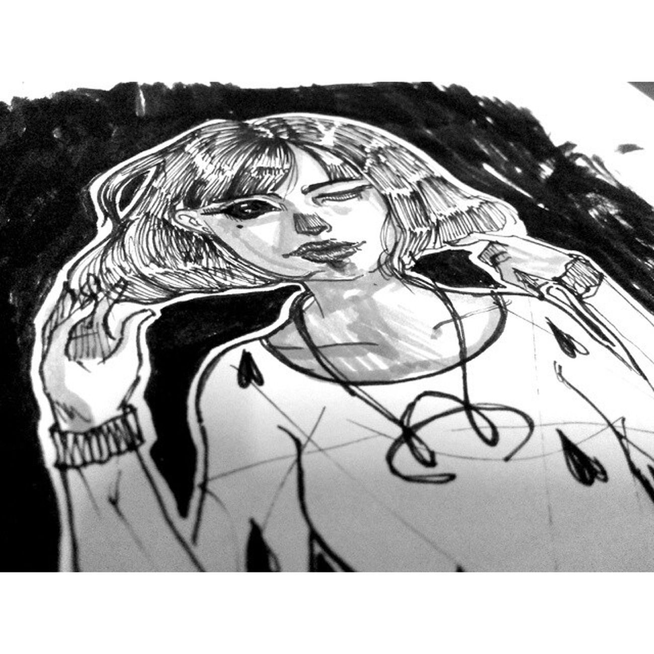 Draw Ink Sketch Illus