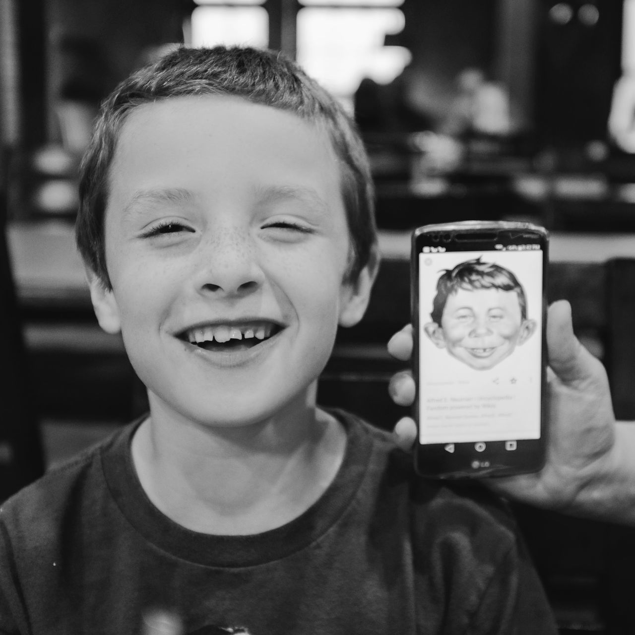 Visual journal May 2017 Beatrice. Nebraska https://www.theparisreview.org/blog/2016/03/03/a-boy-with-no-birthday-turns-sixty/ A Day In The Life Alfred E. Neuman Boys Camera Work Cheerful Childhood Close-up Everyday Lives Eye For Photography EyeEm Best Shots EyeEm Gallery Fujifilm EF-20 FUJIFILM X100S Lifestyles Looking At Camera Photo Diary Photographing Photography Themes Portrait Practicing Photography Real People Small Town Stories Storytelling Visual Journal What, Me Worry?