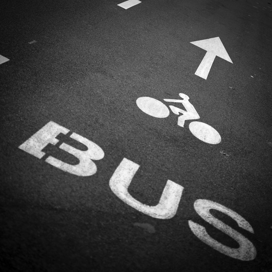 My first entry for the Bnw_friday_eyeemchallenge Typography Fortheloveofblackandwhite Where Is The Bus?