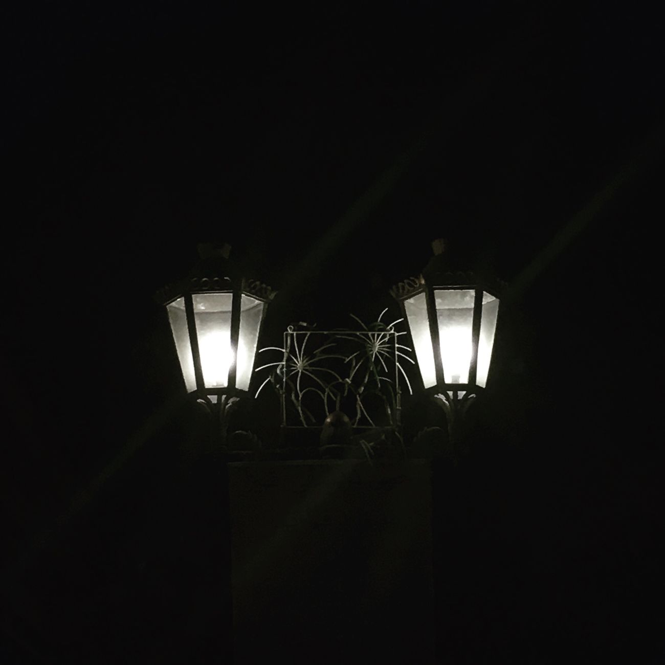 Lamps Lighting Equipment Illuminated Dark Indoors  Night IPhone Photography Brunei Darussalam IPhoneArtism Explore Brunei Travel College Life