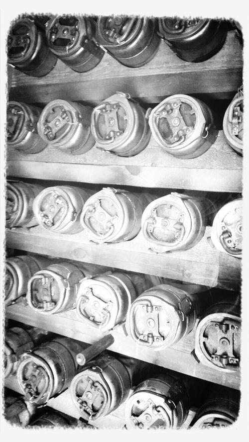 Bunker Black & White Weltkrieg Bombe