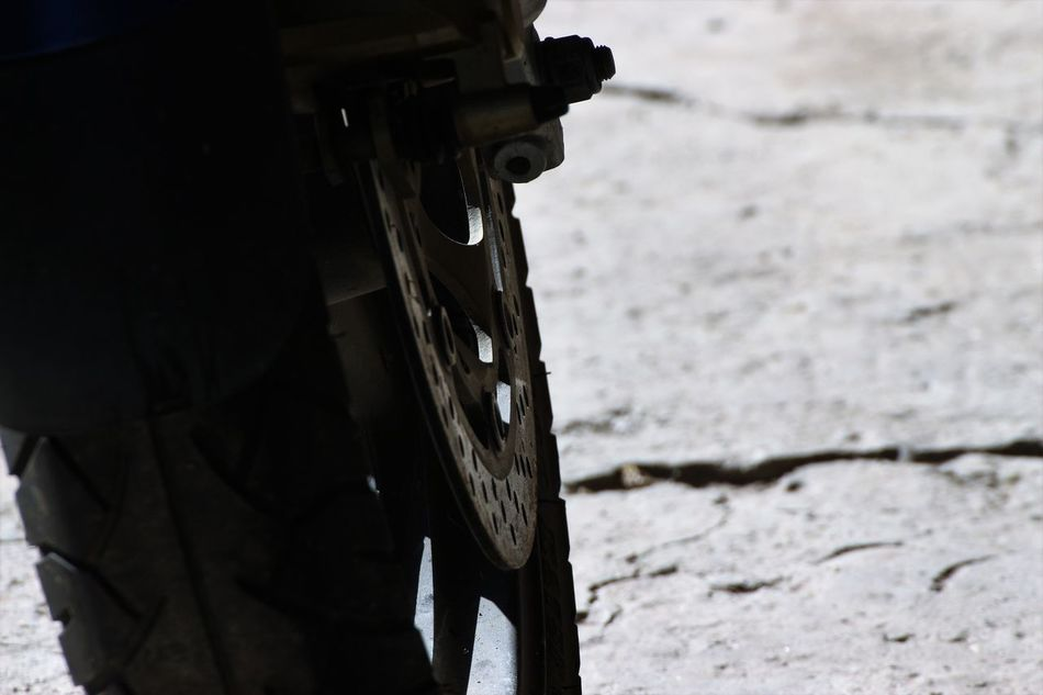 Close-up Day EyeEm Best Shots Motorbike Motorcycle Nature No People Outdoors Potholes Potholes Road Route Sky Weapon