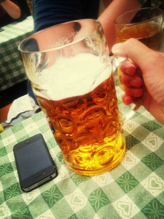 yikes i can hardly lift it let alone drink it! Oktoberfest