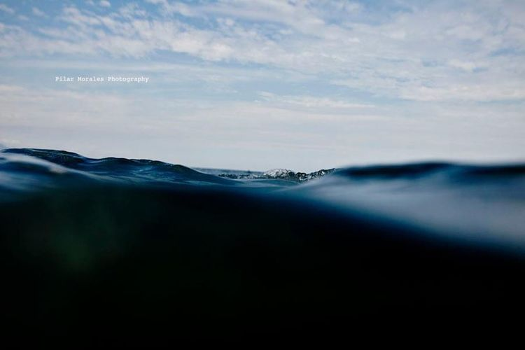 Beauty In Nature Horizon Over Water Nature No People Outdoors Sea UnderSea Underwater Water