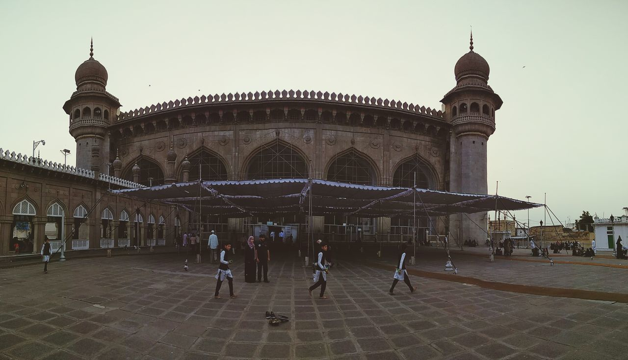 Travel Destinations Hyderabad,India Mekkah Masjid Charminar Clone Photography Panorama