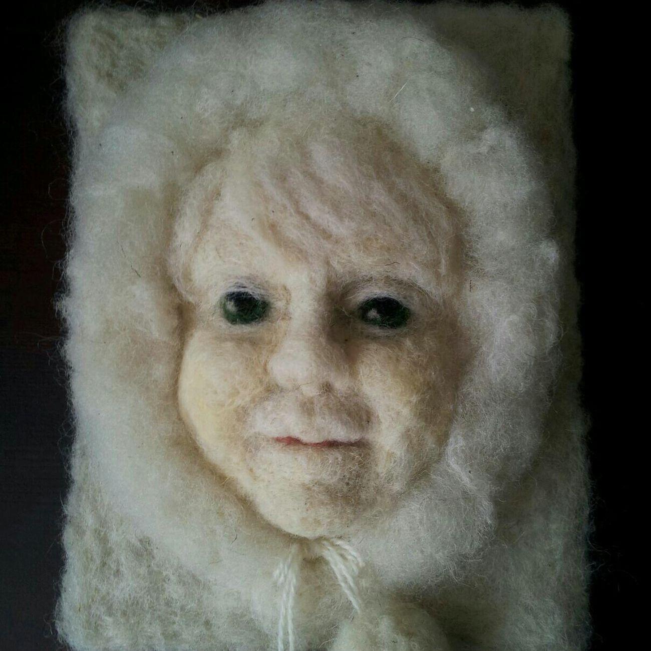 Another winter child... Artdolls Handmade By Me Portrait Hello World