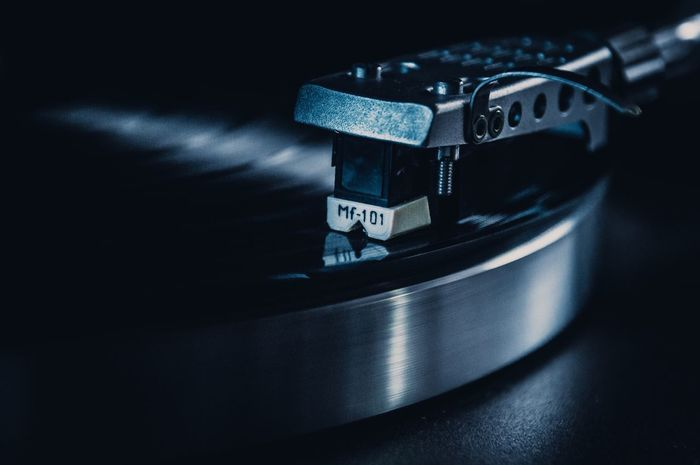 TakeoverMusic Technology Record Player Needle Close-up No People Music Roundtable Needle Lieblingsteil