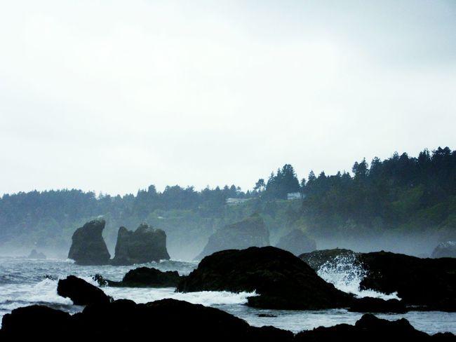 Ocean Waves Crashing Beautiful Nature