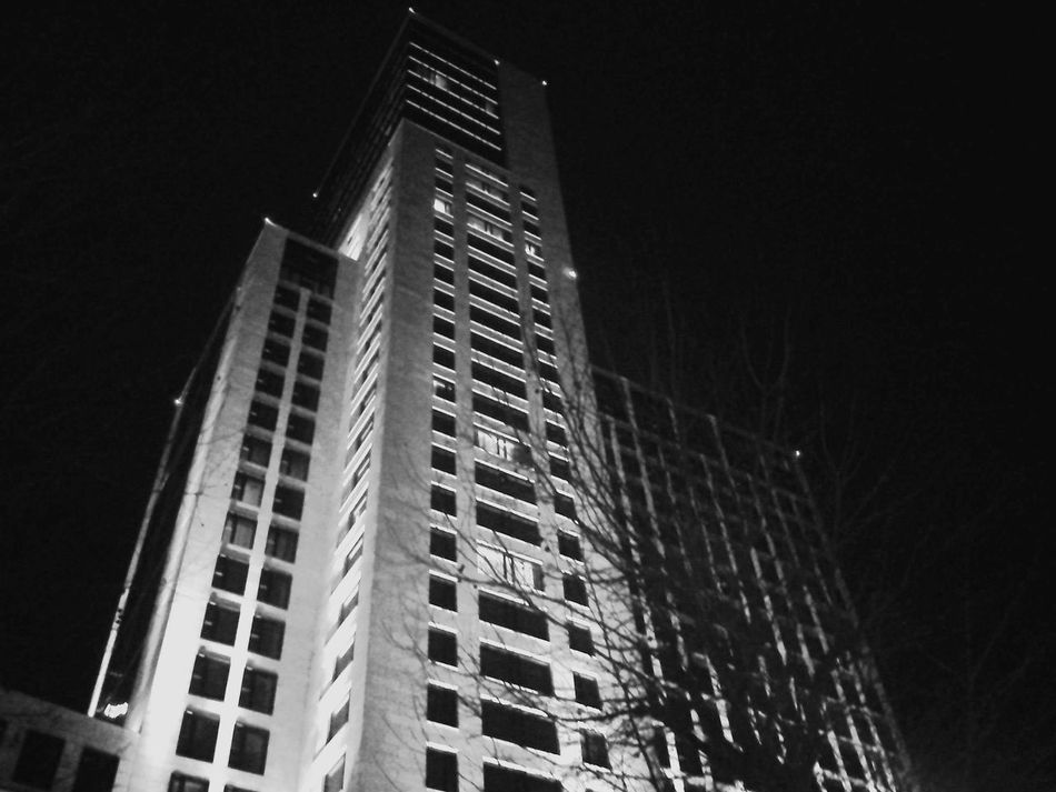 Architecture Building Building Exterior Built Structure City City Life Dark Development Growth Illuminated Low Angle View Mobilephotography Modern Night No People Office Building Outdoors Sky Skyscraper Tall Tall - High Waldorf Astoria Waldorf Astoria Berlin Deutschland