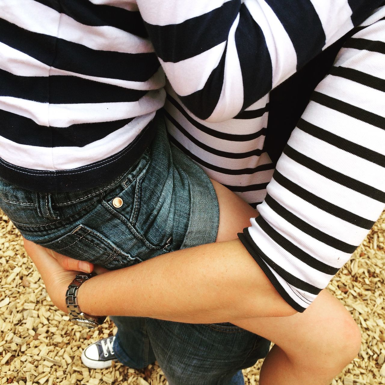 Beautiful stock photos of maternity, Bonding, Carrying, Casual Clothing, Day