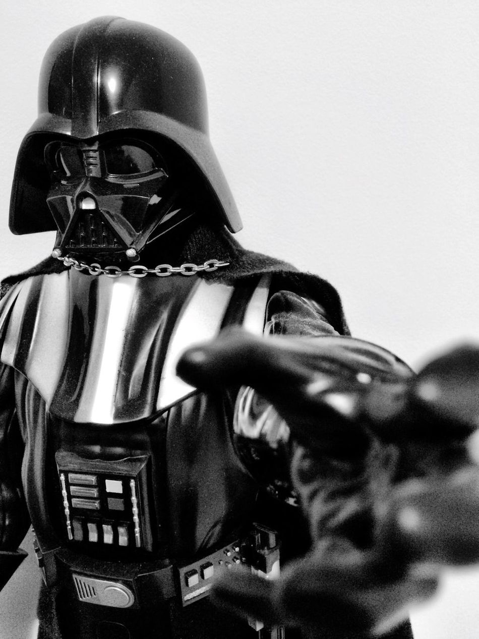 The dark side is strong here Helmet Close-up Suit Of Armor Warrior - Person Darthvader Darkside Starwars Star Wars Star Wars Collectables