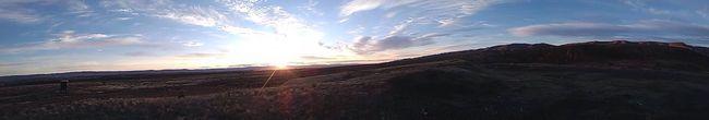 daybreak on signal peak Imouttahere Panoramic View lonesomedaysandlongnights