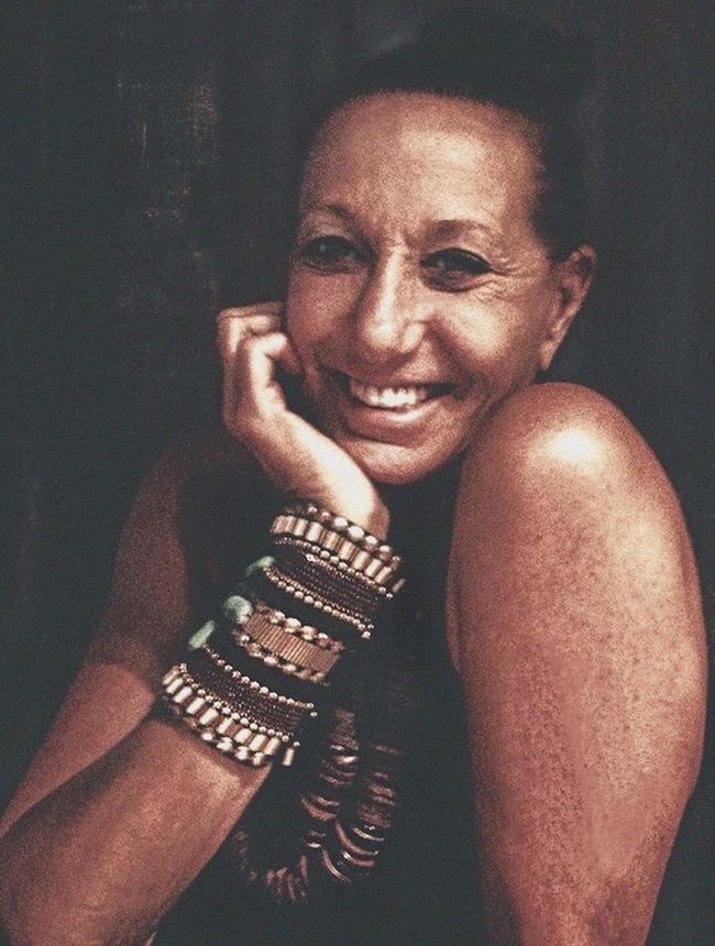 Donna Karan / NYC Fashion Designer Celebrity Portraiture DKNY DonnaKaranNY Bracelets- Handmade Necklace Smiling Style Icon Female Entreprenuer Canon Impromptu Portrait  The Portraitist - 2016 EyeEm Awards