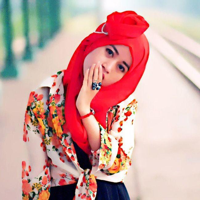 assalamualaikum Instafavorite Flowers Hijabers