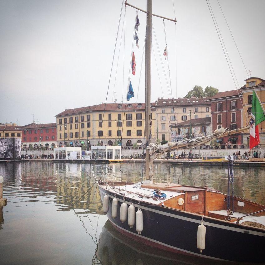 Darsena Milan Navigli Navigliogrande Nuova Darsena Di Milano
