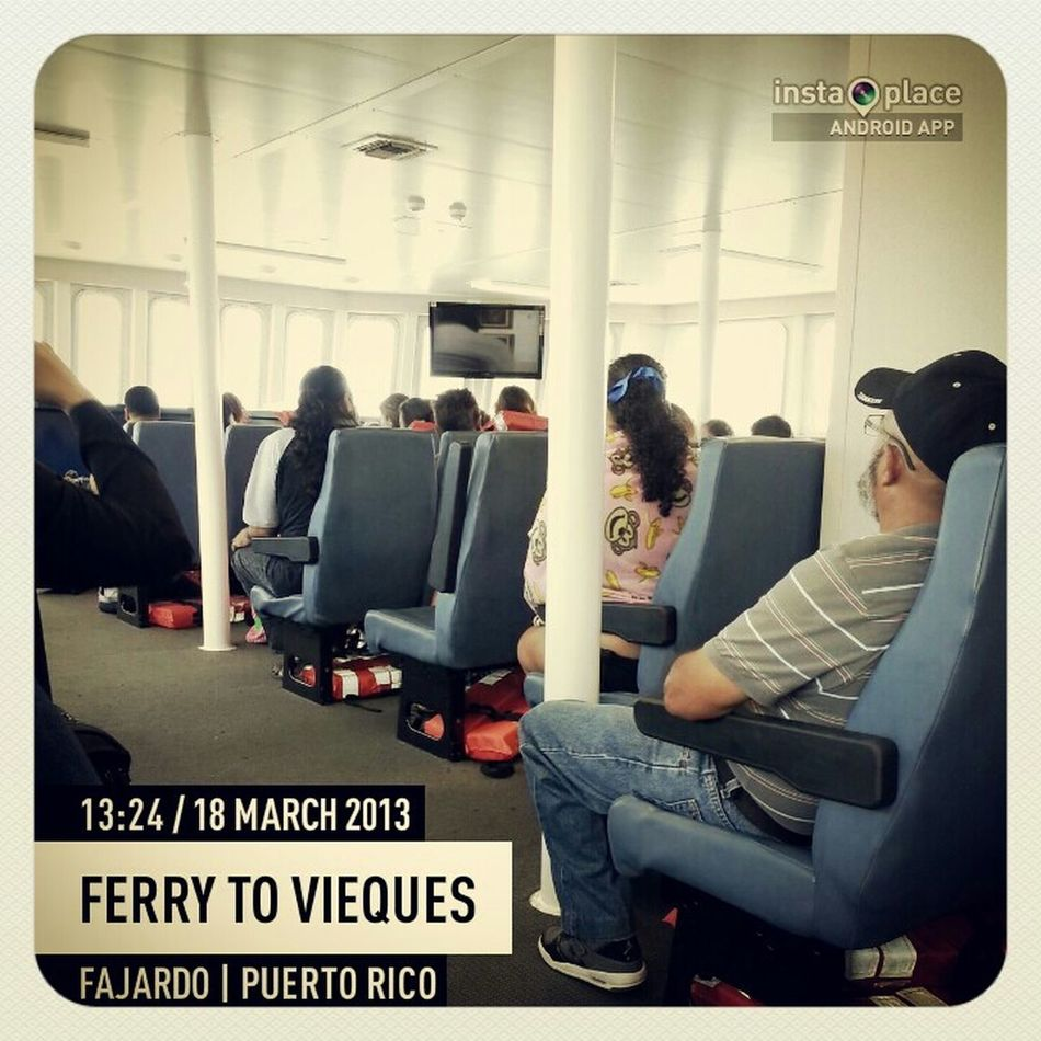 Ferry To Vieques, P.R.