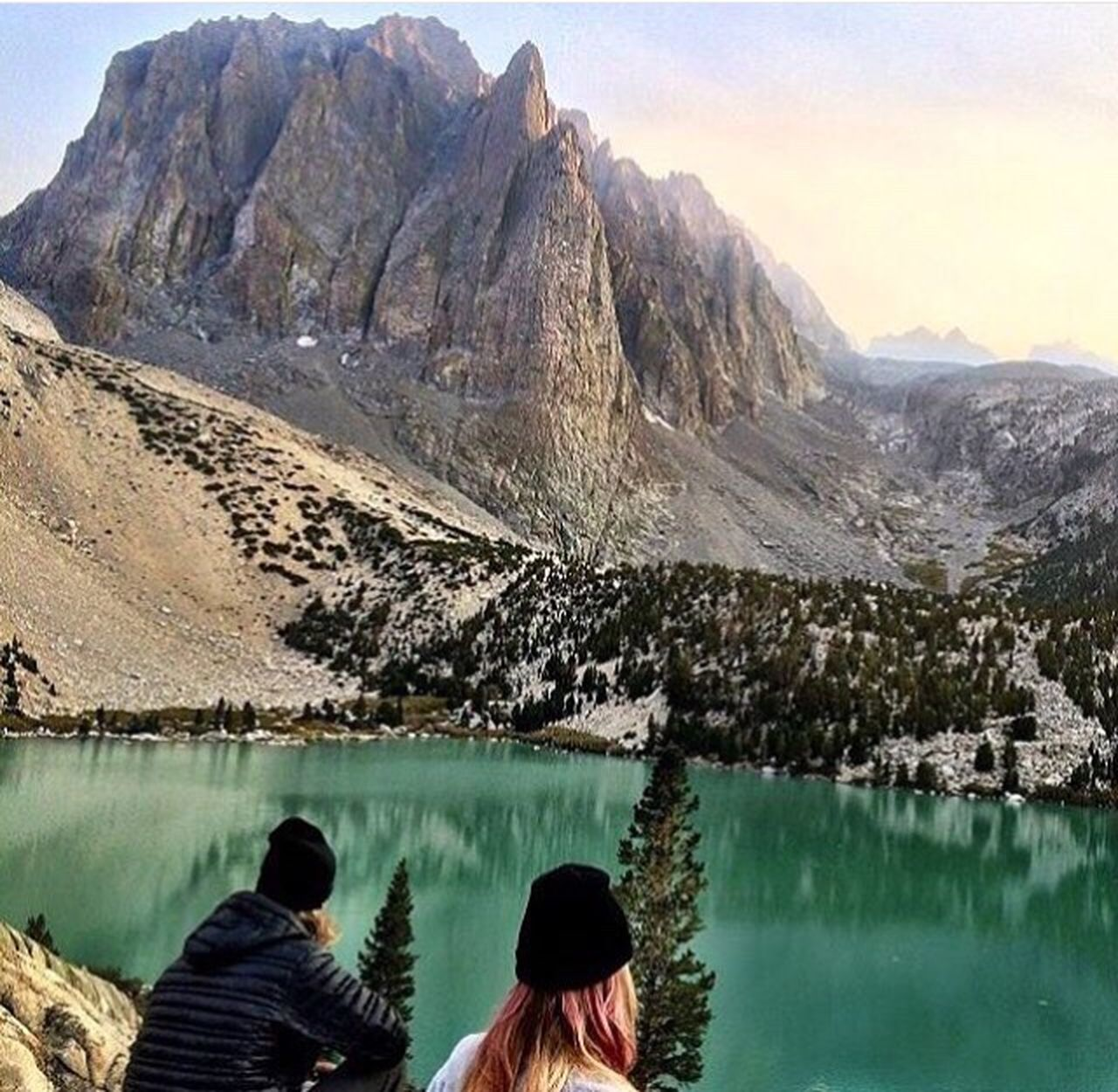 My Favorite Photo big pine, ca Big Pine Lakes Eastern Sierra Temple Crag Backpacking Hiking