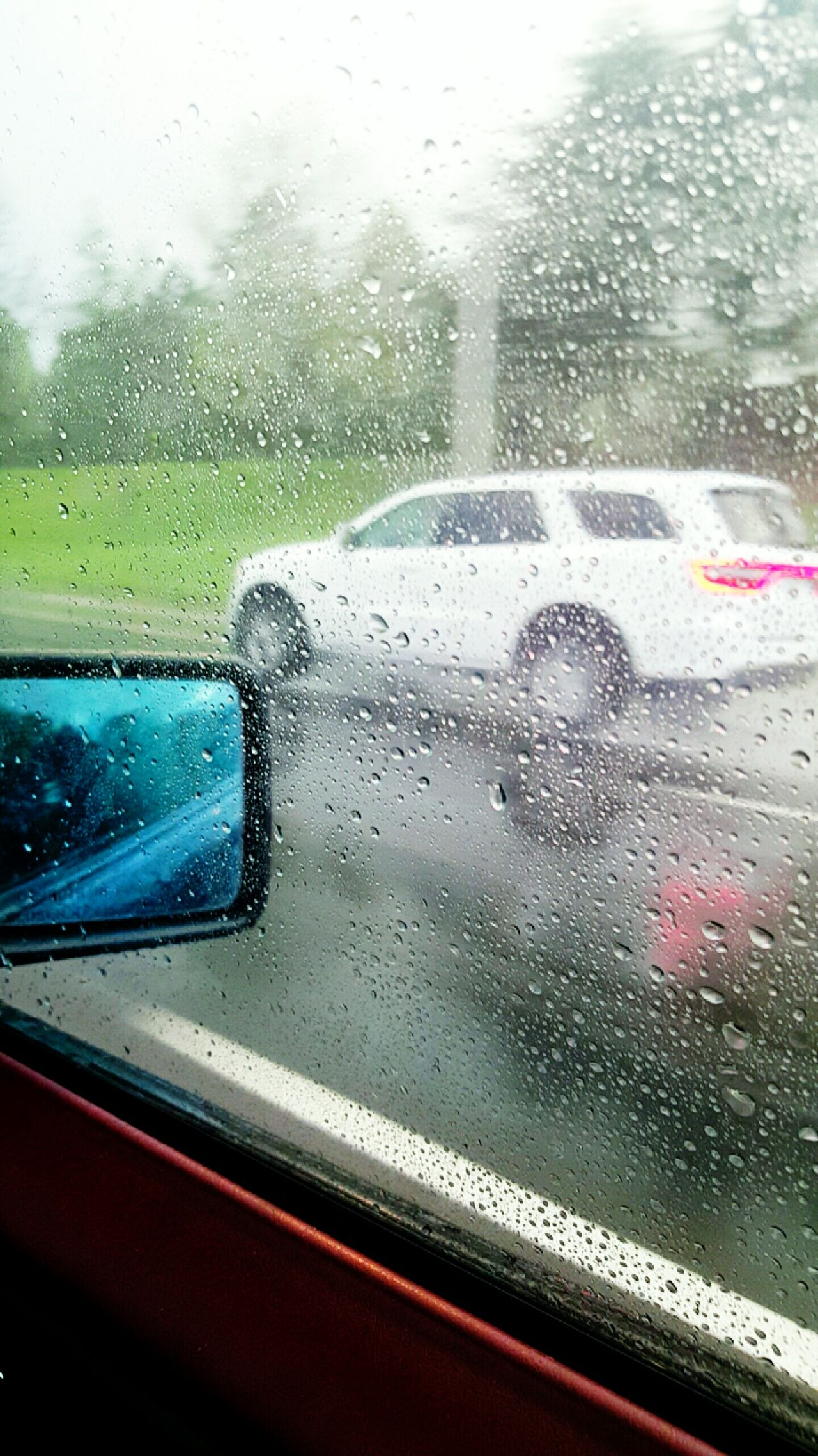 Raining Outside Inthecar Rainshower Raindrops Car Cars Mirror Wet Day Water Reflection Driving Around Drivebyphotography From My Point Of View Samsung Galaxy S6 Edge S6edgephotography Deceptively Simple EyeEm Best Edits EyeEm Best Shots Blurred Motion Blurred Background Blurrypicture Waterdropsonglass. Raindropsonmywindow On The Way The Journey Is The Destination