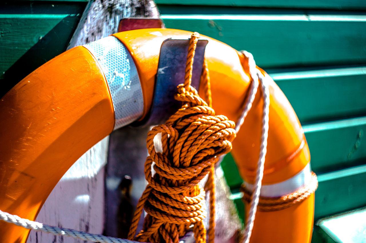 seaside harbour view in Hamburg Blurry Close-up Constrast Contrasting Colors Depht Of Field Eye4photography  EyeEm Best Shots EyeEm Gallery EyeEmBestPics Focus On Foreground Hamburg Hamburg Harbour Harbour Harbour View Lifeboat Lifebuoy Light And Shadow Mintgreen Orange Color Outdoors Ring Buoy Summertime Sun