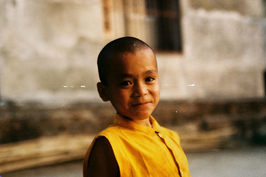 Child portrait, Nepal Untold Stories Nikkormat FS (1965) Filmcamera The Purist (no Edit, No Filter) Portrait The Portraitist - 2015 EyeEm Awards EyeEm Best Shots The Traveler - 2015 EyeEm Awards Filmisnotdead Child