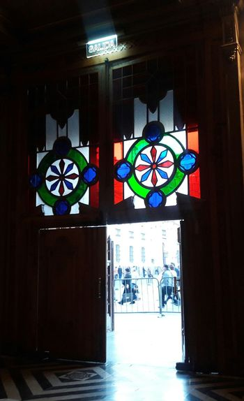 Glass Steined Glass Cathedral Doors City Tranquility Exit Peaceful Place Pivotal Ideas