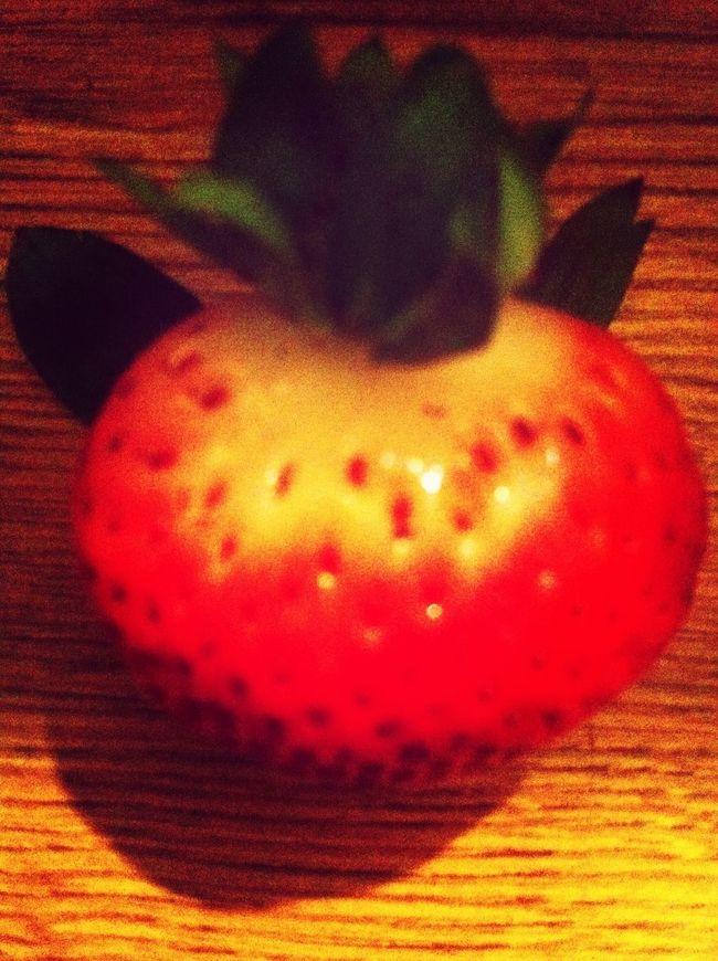 Cutest Strawberry Ever