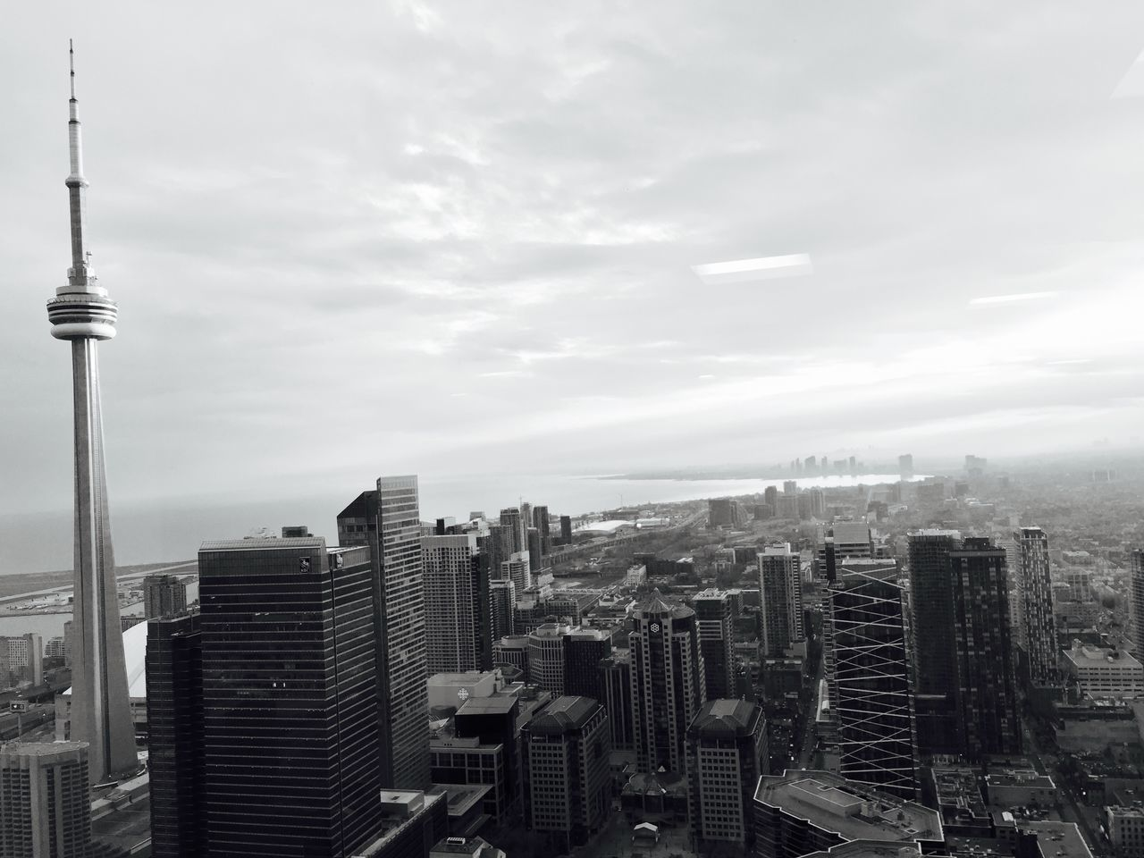 Monochrome Photography 6ix Architecture Water City Toronto No People