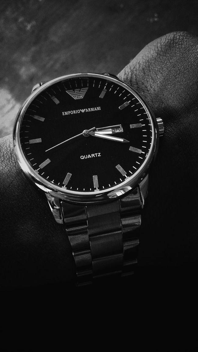 Emporio Armani Armani❤ Watch Timepiece ⌚ Photography Zeeshan Khan Malemodel  Fashionable No People Circle