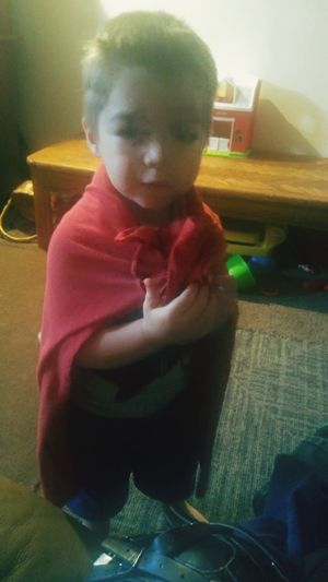 Superhero Super Baby With Cape