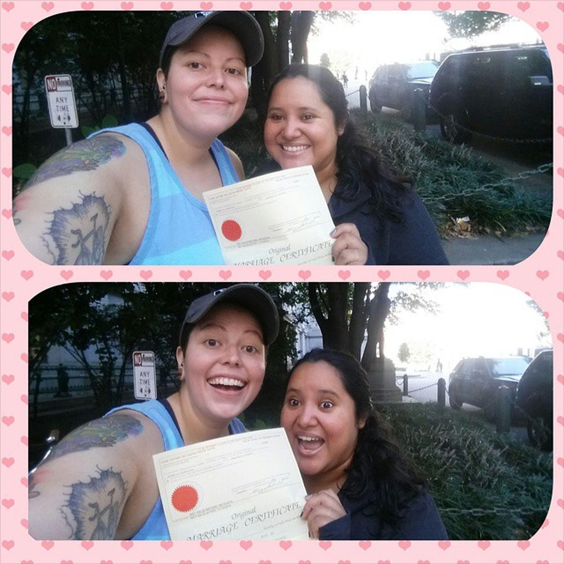 this just happened!! ???? Marriagelicenseday Gettingmarried 10414 Marryingmybestfriend loveofmylife myforever @phillynerd
