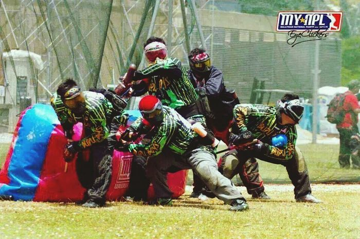 Paintball Paintball Photography Paintball4Life Malaysia National Paintball League MYNPL Division 3 Team Budu Boys Dataran Pahlawan Melaka Malaysia Raza Paintball HK Army Dye Planet Eclipse Macdev Empire Ninja Guerilla Air