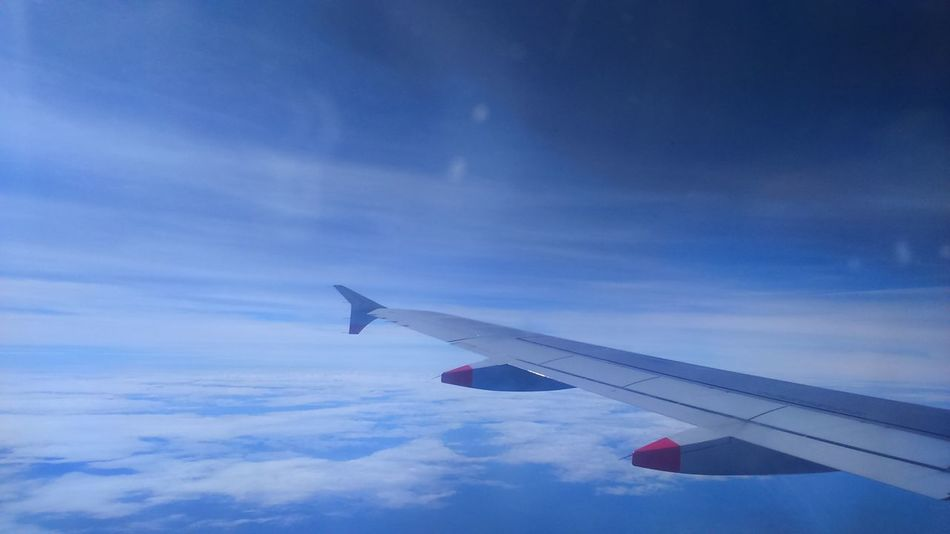 Traveling Home For The Holidays Aircraft Wing Travel Good Live
