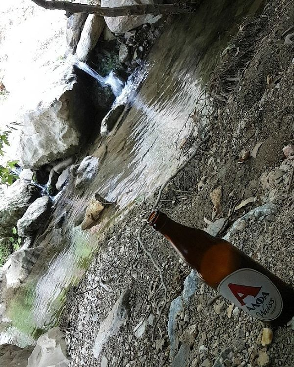 Relaxing Smallwaterfall Beer Day