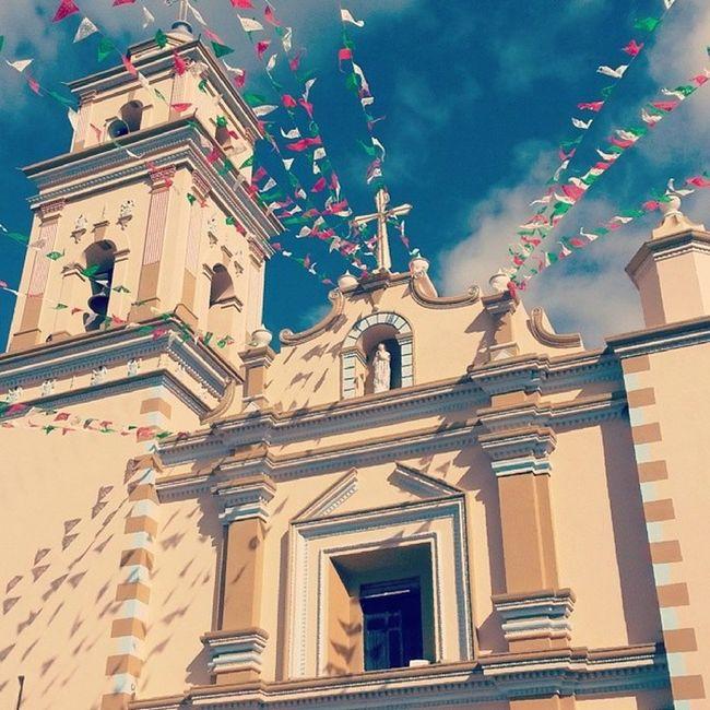 Coapan Tehuac án Pueblo Mexico puebla pintoresco iglesia