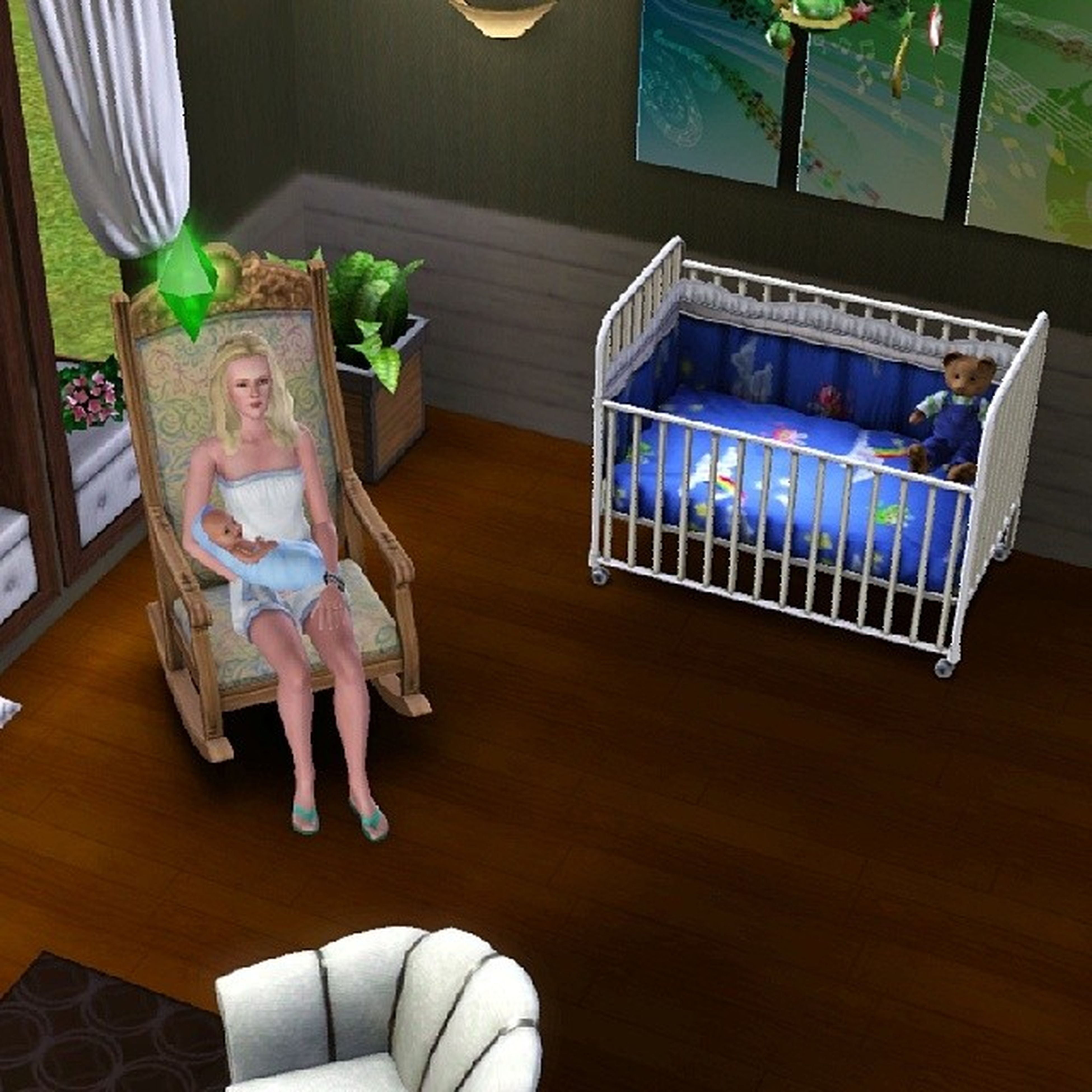 Thesims3 CarryingBaby