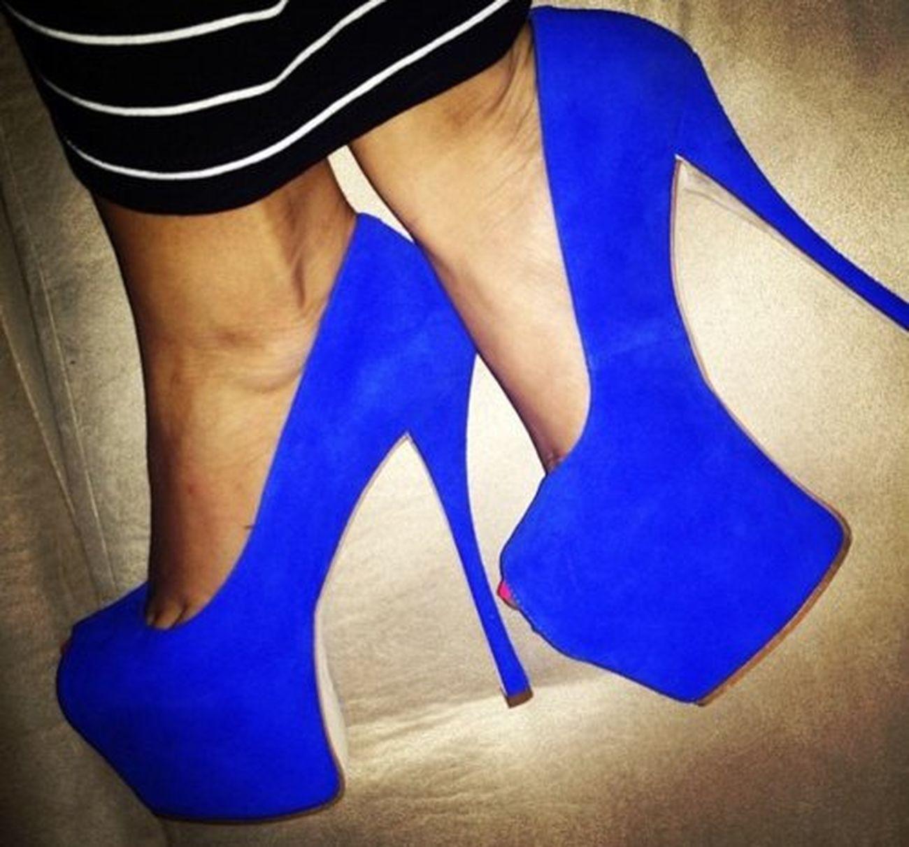#blue#high#heels
