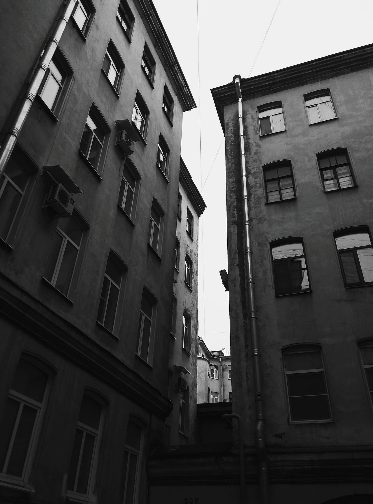 City Day Architecture Outdoors No People Built Structure Building Exterior St Petersburg Dark Black And White Monochrome Black & White Beauty