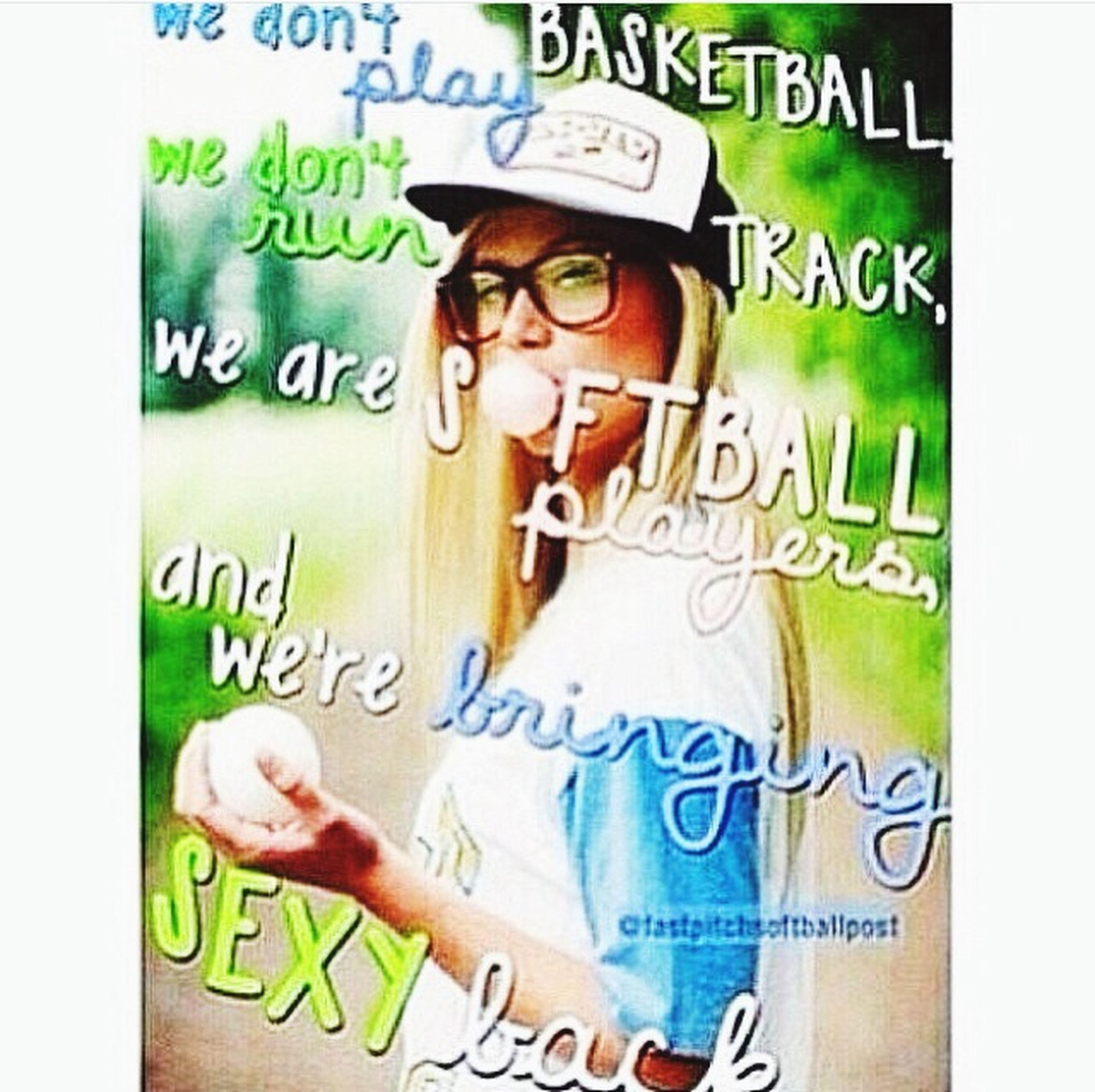 Move over boys,softballs coming for you? Werebringingsoftballback
