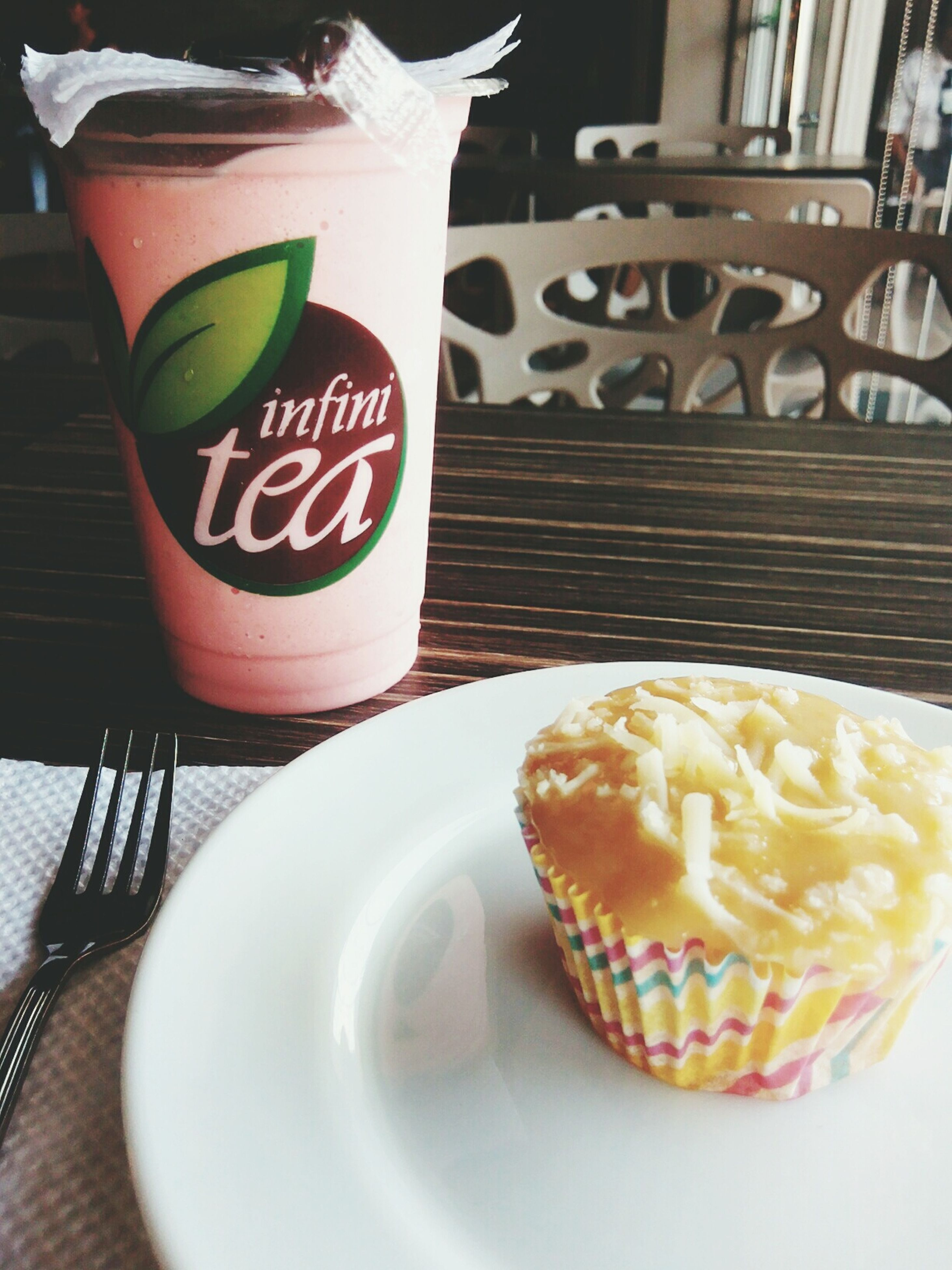 food and drink, sweet food, food, freshness, indoors, dessert, table, still life, ready-to-eat, unhealthy eating, indulgence, plate, cake, close-up, temptation, serving size, drink, coffee cup, refreshment, focus on foreground