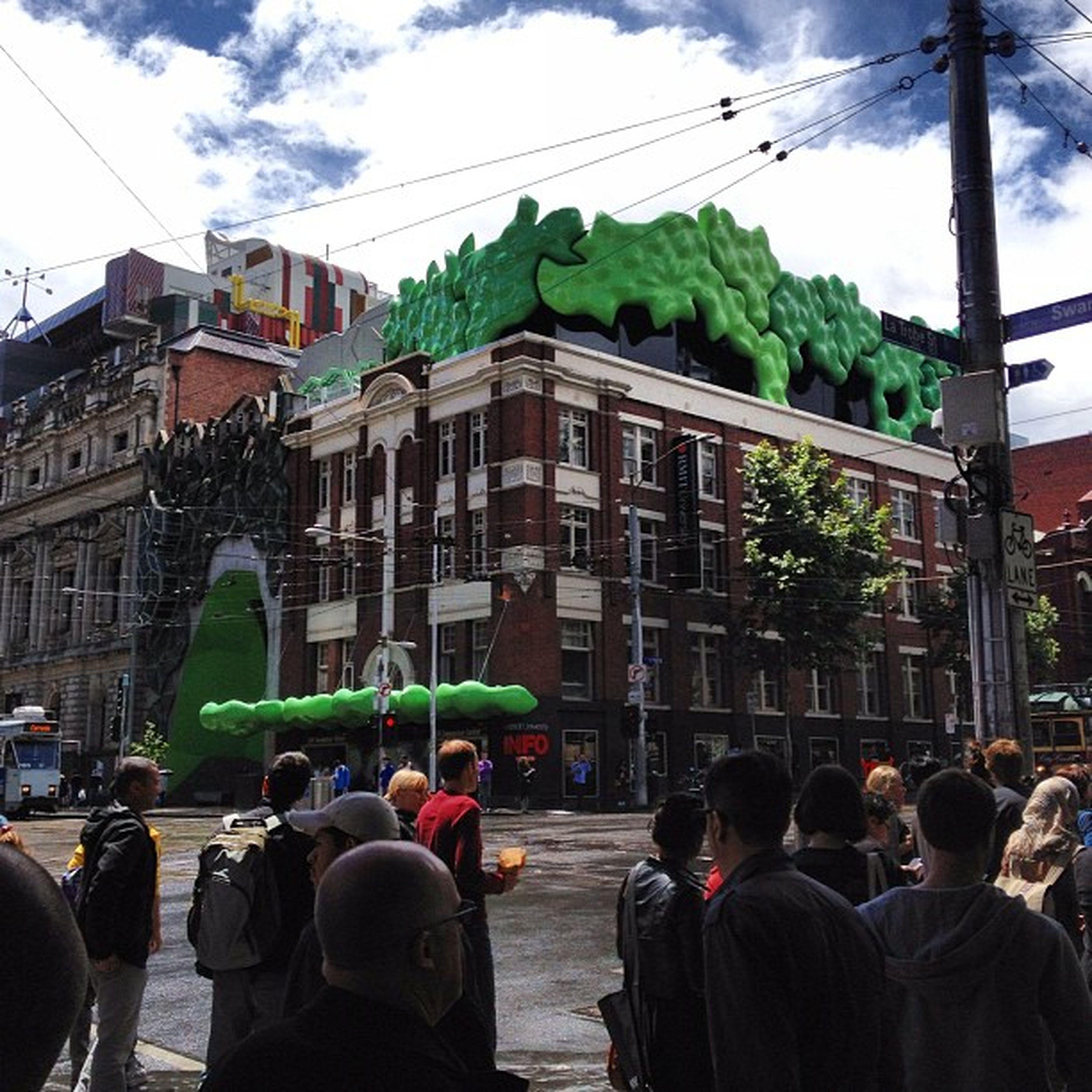 #rmit #university #swanston_st #melbourne Melbourne University Rmit Swanston_st