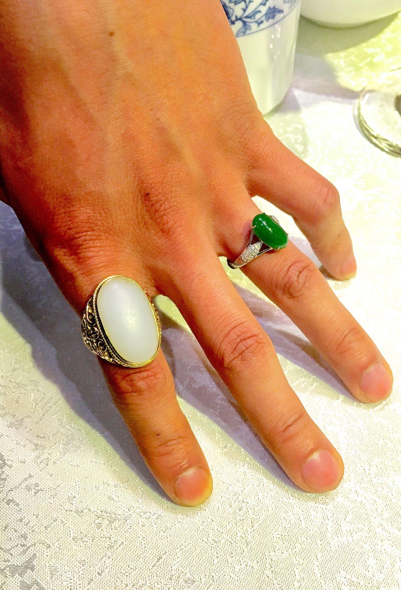 Human Hand Human Finger Jade Jewel Jade Green White Jade Jade Stones Jade Fingerring Finger Rings Valuable Jewels Jade In China Human Body Part Fingernail Trading With Jade