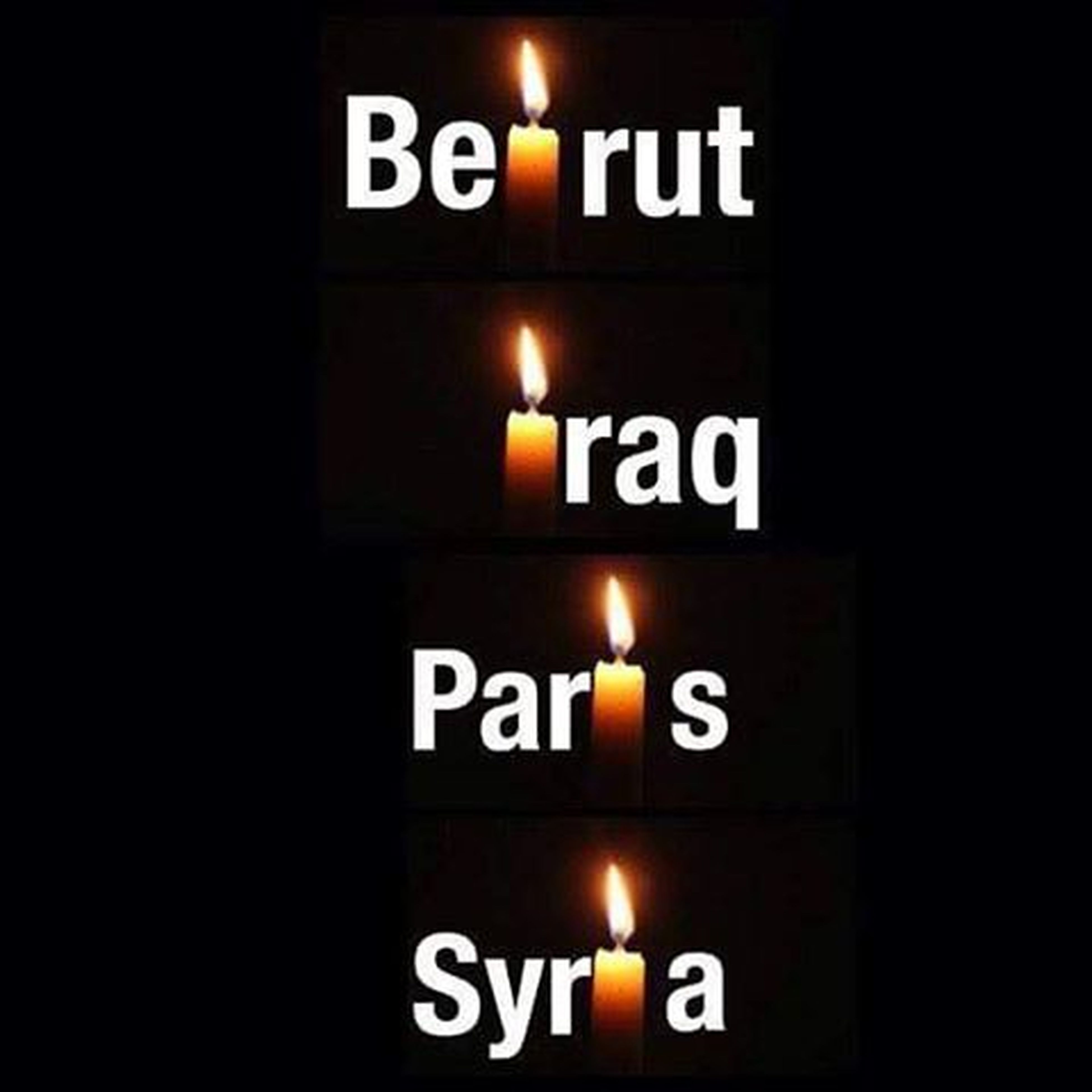 To the sprits that passed a way today and everyday in Beirut Iraq Paris Syria  may your souls rest in peace Pryforparis Pryforiraq Pryforbeirut Pryforsyria 🙏🏻