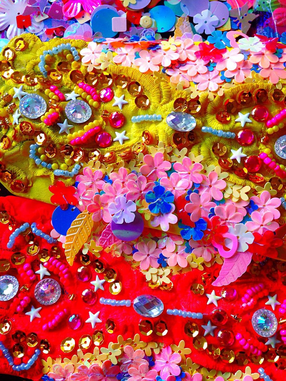 ⭐️⚜fenton magical embroidery⚜⭐️ Multi Colored Abstract Vibrant Color Variation Celebration Close-up Embroidery Handmade Laviniafenton Jewelry Designer  Fancy Sneak Peek Fluo  Neobaroque Neobaroquequeen EyeEm Best Shots Eye4photography  EyeEm Gallery Beautifully Organized Colorful EyeCandy  View Art