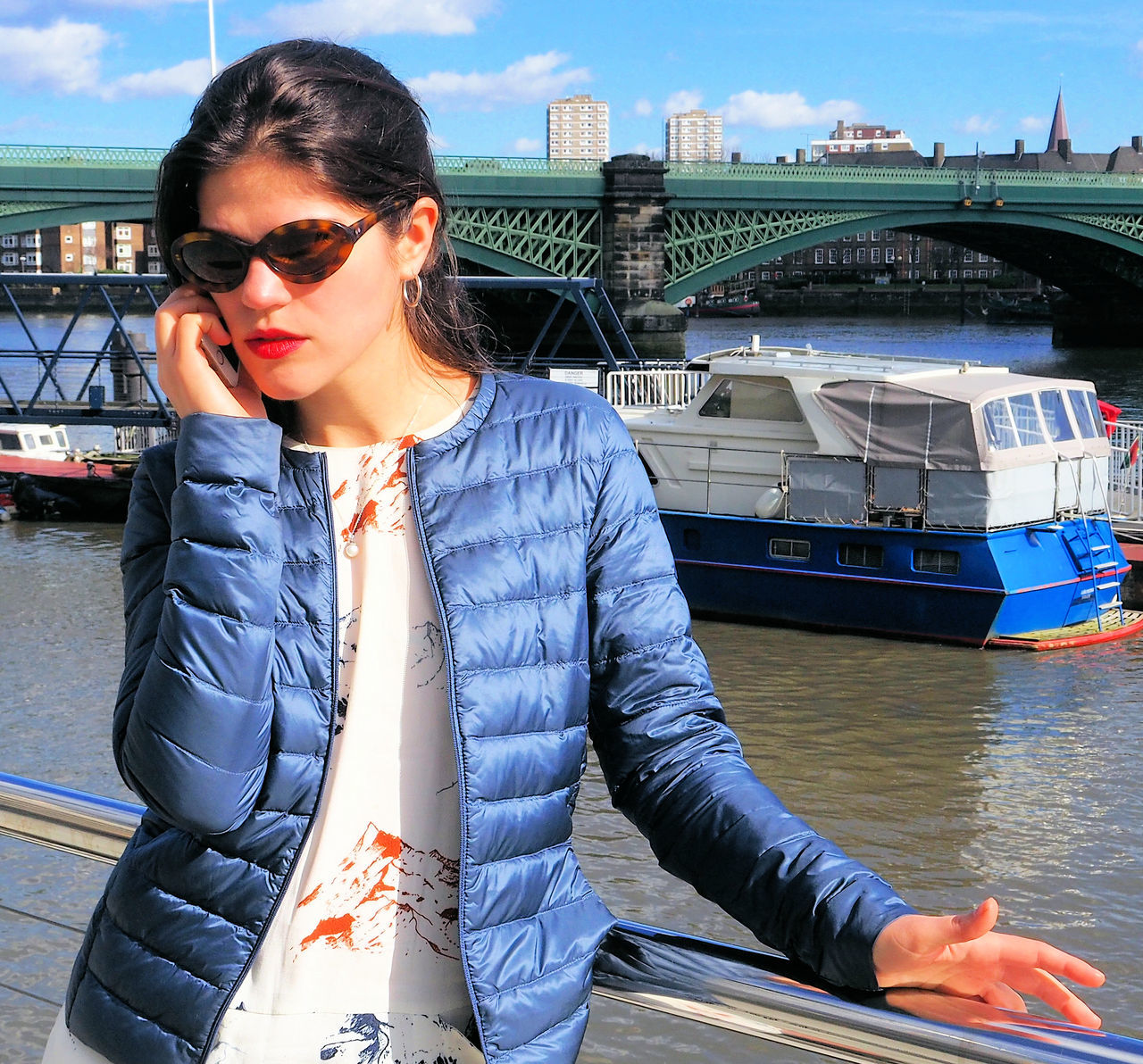 Agitated woman on the phone Mobile Networks Agitated Agitated Woman On The Phone Angry Angrybirds Blue Jacket Bt Call Charges City Mobile Phones Nautical Vessel One Woman Only Phone Conversation Phone Tarrifs Relaxing River Side River Thames Sunglasses Talking On The Phone Young Women