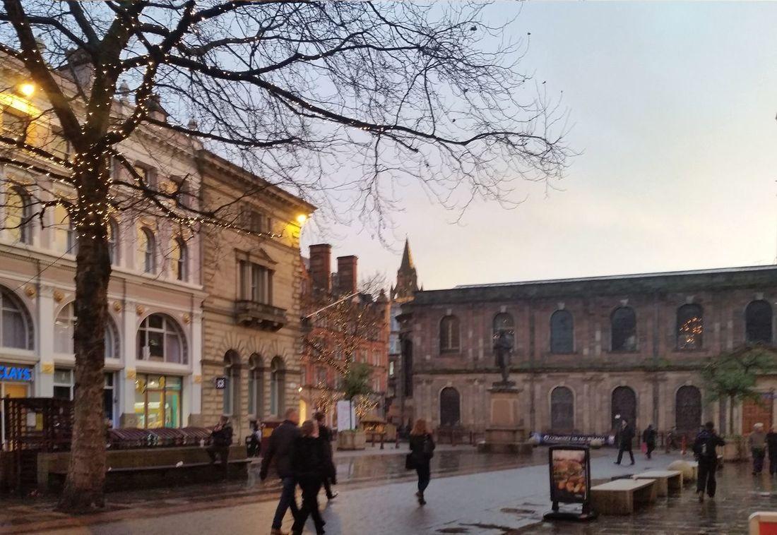 Manchester St Ann Square Sunset