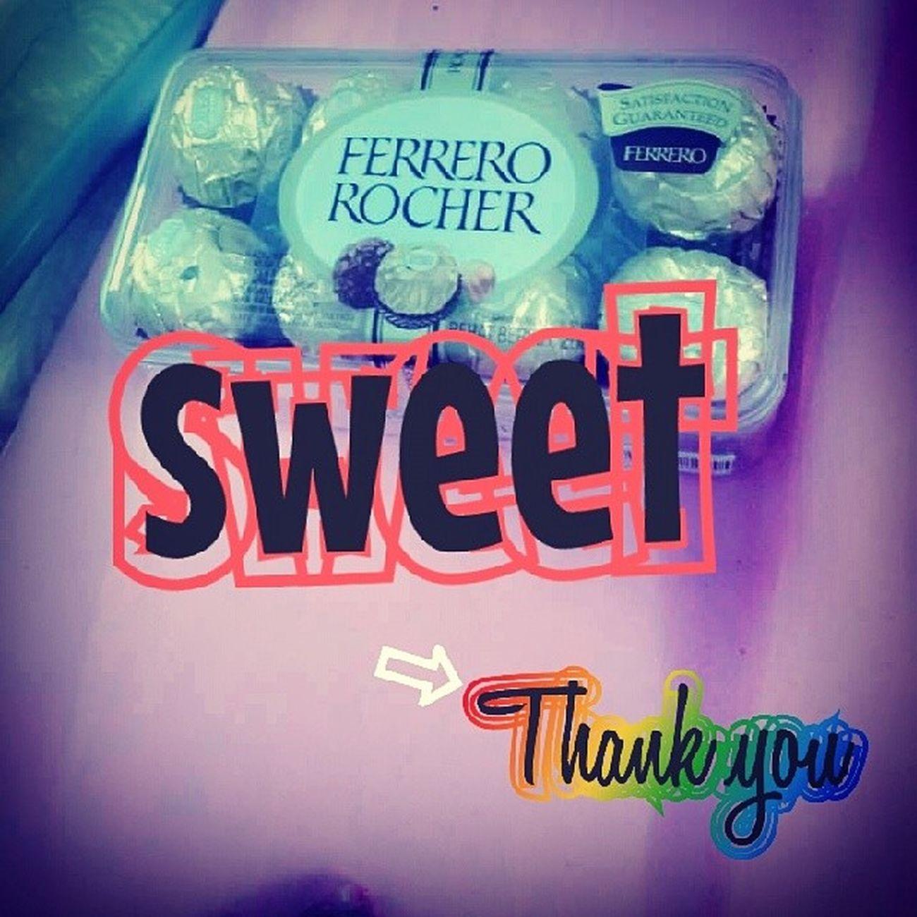 sweet takk hikssssss ⇨FERRERO ROCHER⇦ FUYOOOOOOO THNKK YOUU HAHHAHA SYHIDAX Bff LOVEFENDSHIPP