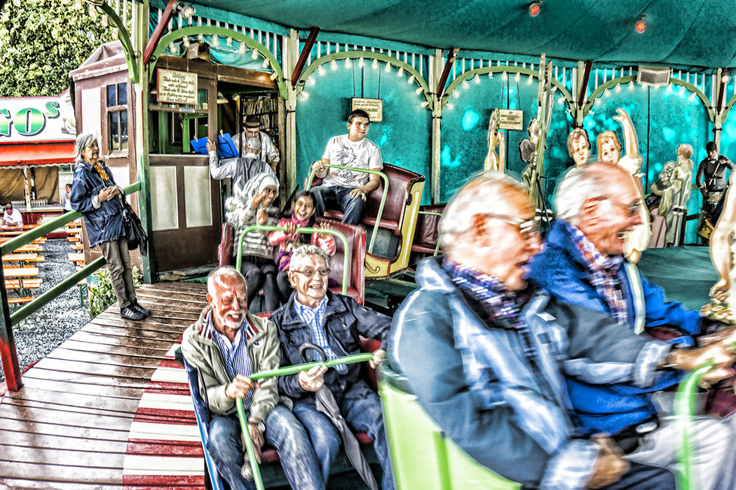 City Life Day HDR Historisch History Kermis Kirmes Leisure Activity Leuk Lifestyles Medium Group Of People Men Nostalgie Spa
